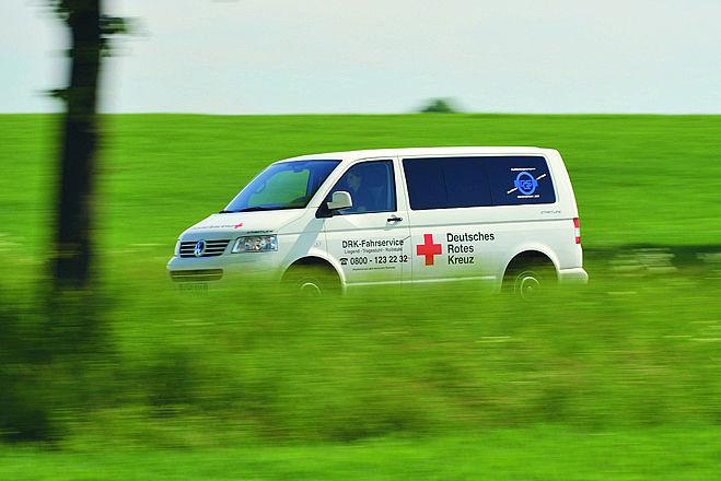 Die Fahrdienste des DRK garantieren Menschen Mobilität